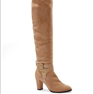 New York & Company Eva Mendes Over Knee Boots Sz 7
